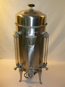 ANTIQUE COFFEE URN EARLY 1900'S HOTEL/ RESTAURANT/ ETC - LARGE ELECTRIC
