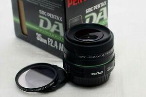 Pentax SMC PENTAX-DA 35mm F2.4 AL Lens *Mint*