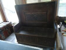 Antique Settle  Bench
