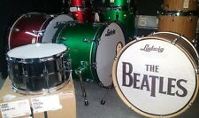 LB408 Black Beauty 8x14 Snare A-Stock Ludwig Seamless Brass Shell Imperial Lug