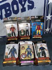 Hasbro Marvel Legends Series Mr. Hyde Build A Figure Shang-Chi Complete Set Of 6