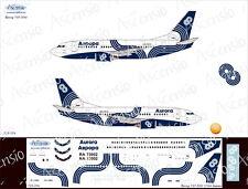 """1/144 """"Ascensio"""" Boeing 737-500 """"Aurora"""" decals 735-014"""