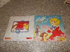 ALBUM figurine LULU PANINI 1981 COMPLETO MB/OTT TIPO LADY OSCAR CREAMY FLO SANDY