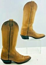 Ladies Olathe Brown Western Boots Size: 6C
