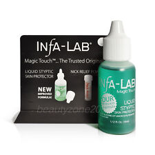 Infa-Lab Magic Touch Liquid Styptic Nails Stop Bleeding Skin