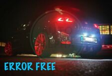 SEAT LEON MK1 MK2 LED XENON ICE WHITE NUMBER PLATE LIGHT BULBS CANBUS ERROR FREE