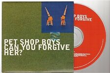 PET SHOP BOYS can you forgive her? CD SINGLE card sleeve
