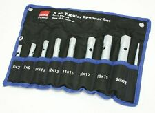 Hilka 8 Piece Tubular Box Spanner Set Spark Plug Wrench Metric  17900802