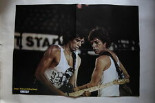 Rolling Stones Keith Richards Mick Jagger Charlélie Couture POSTER France French