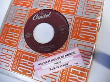 """HEART Will You Be There/Back To Avalon 7"""" 45 RPM Capitol Records VG+"""