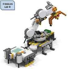 Lego Mindstorms Custom MECHANICAL ARM (Only instruction & program) IDEA #1 Lab ©