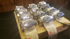 """Keeney LOT of 12 K2068PCLF 5/8"""" IN x 3/8"""" OD. OUT 1/4 Turn Straight Valve Chrome"""