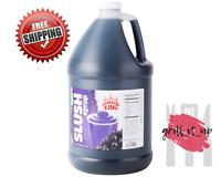 1 Case of 4 Gallons  Slushy Machine Syrup Frozen Flavor Drink Mix- Grape