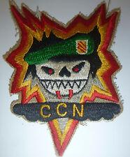 USSF Patch - MERCENARY, MONTAGNARD COMMAND - Khe Sanh - CCN - Vietnam War - 974