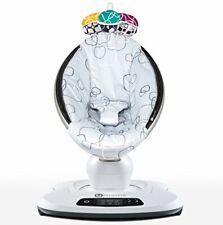 4moms® mamaRoo 4.0 Rocker/Bouncer Silver Plush