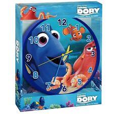 Official Disney PIXAR Finding Dory Nemo Wall Clock Childrens Nursery Bedroom