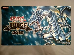 Blauäugiger Weißer Drache (Blue Eyes White Dragon) 2016 Judge Spielmatte Playmat