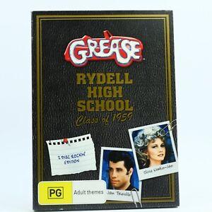 Grease Rydell High School Class of 1959 John Travolta (DVD 2009) R4 GC