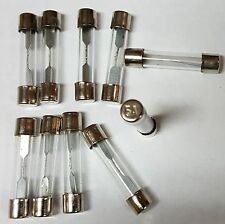 AGC05 05 AMP GLASS TYPE FUSES 10Pcs