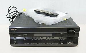 Onkyo TX-SR505E Amplifier Home Cinema AV Receiver 7.1 w/ Remote, Manual - 250
