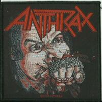 ANTHRAX fistful of metal 2020 WOVEN SEW ON PATCH official merchandise