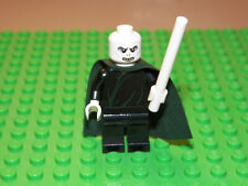 Lego Voldemort minifigure with white wand Harry Potter