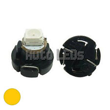1 Yellow SMD LED T4.2 Neo Wedge 12v Interior LED Bulb