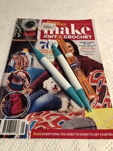 Make Knit & Crochet 70+ Patterns Plus Needles & Hook Printed In Australia