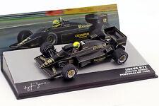 Ayrton Senna Lotus 97t #12 Vainqueur Portugal GP Formule 1 1985 1 43