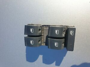 Audi A4 b7 2007 Driver right front window switch