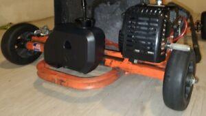 Fuel Gas Tank Black 1.5 L Aluminum Cap Lines for Goped Goquad Go quad