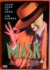 The Mask DVD Region 2 Jim Carrey Cameron Diaz Peter Riegert Greene Jeni Russell