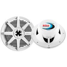 """Boss Audio MR62W 6.5"""" 2-Way 200W Marine Full Range Speaker - White - Pair"""