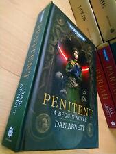 Dan Abnett BEQUIN: PENITENT 1st/HB MINT Warhammer 40K Bequin series Book 2