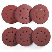 5 inch 8 Hole Sanding Discs 1000-3000 Grit Sandpaper Random Orbital Sander 120pc