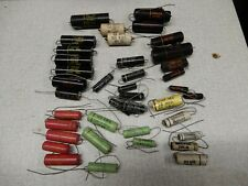 Black Beauty and Other Vintage Axial Capacitors Some NOS .022 1600V