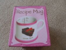 recipe mug Bluw Chocolate Brownie Recipe Mug From Debenhams