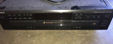 Sony Cdp-Ce305 Stereo Cd Player 5-Disc Disc Exchange