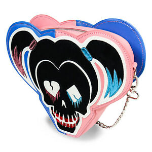 Ladies Harley Quinn Pink Suicide Squad Bag Chain Value Summer Deal