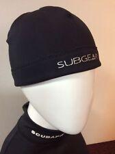 SubGear Neoprene Beanie 2mm Black Size S/M