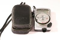 SEKONIC MICRO-LEADER 417245 LIGHT METER WITH ORIGINAL CASE MADE IN JAPAN