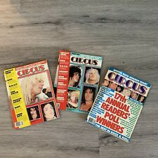 3 ISSUES OF CIRCUS  - Feb 1987, Apr 1985, May 1985
