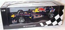 1-18 F1 Red Bull Racing 2010 M. Webber Nuevo En Caja