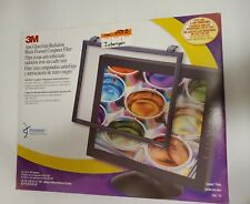 "3M Anti-Glare Black Framed Computer Filter For 19-20"" LCD & 19-21"" CRT Monitors"