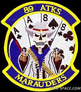 USAF 89th ATTACK SQ -MARAUDERS- MQ-9 Reaper ATTACK UAV DRONE ORIGINAL VEL PATCH