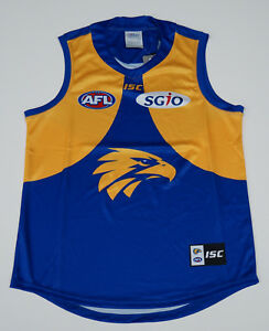 West Coast Eagles 2018 ISC Official AFL Jumper Guernsey NEW Size LARGE IN STOCK