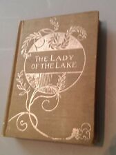 THE LADY OF THE LAKE Sir Walter Scott Poem In Six Cantos Hardcover 1830 Edition