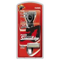 Feather Japan F-System Samurai Edge Razor Holder + 2 Cartridges Blade Refills