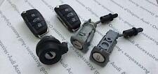 1 Set of Audi A3 V8, A3 V8 Sportback 2013+, Lock Cylinders + Keys 8V4898375INF