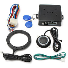 12V Remote Control Car Engine Push Start Stop Button RFID Ignition Starter Kit